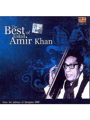 The Best of Ustad Amir Khan (Audio CD)
