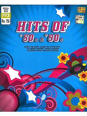 Hits Of '80s & '90 (Hari Om Hari, Kaho Na Pyar Hai Tu Mere Samne, Pehla Nasha, Jujhse Naraz Nahin Zindagi) (MP3 CD)