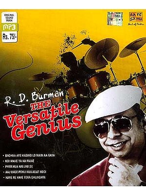 R.D. Burman The Versatile Genius (MP3 CD)