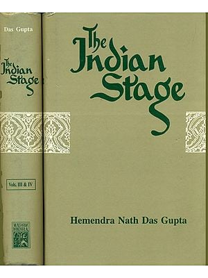 The Indian Stage (4 Vols)