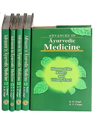 Advances In Ayurvedic Medicine: 5 Volumes Packed in Special Box