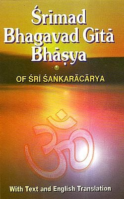 Bhagavad Gita Bhasya of Sri Sankaracarya (Shankaracharya)