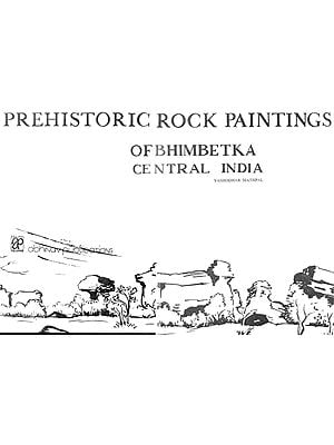 Prehistoric Rock Paintings of Bhimbetka (An Old and Rare Book)