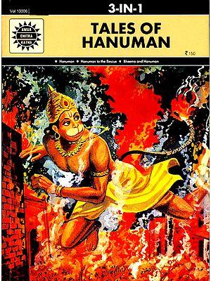Tales of Hanuman (Paperback (3 in 1) Comic Book)