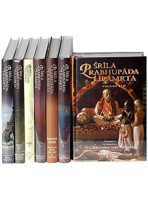Srila Prabhupada Lilamrta (A Biography of A.C. Bhaktivedanta Swami Prabhupada) (Founder-Acarya of the International Society for Consciousness) (In Seven Volumes)