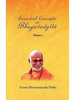 Essential Concepts In Bhagavadgita (In Three Volumes) (Paperback)