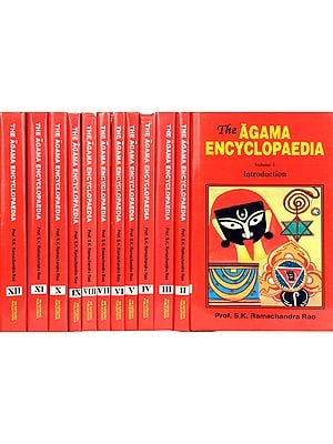The Agama Encyclopaedia (Revised Edition of Agama Kosa) (In Twelve Volumes)