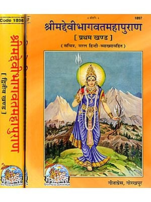 श्रीमद्देवीभागवतमहापुराण The Complete Devi Bhagavata Purana: Two Volumes