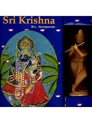 Sri Krishna (With Sculpture)