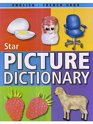 Star Children's Picture Dictionary (English-French-Urdu) - With Roman