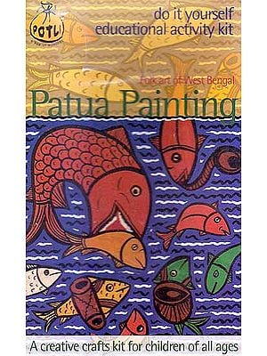 Patua Painting Folk Art of West Bengal (Do it Yourself Educational Activity Kit)