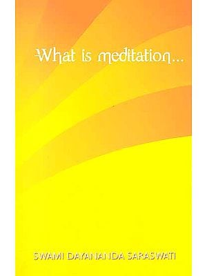 What is Meditation…