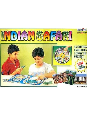 Indian Safari: An Exciting Expedition Across the Country New States Included: Board game for Ages Nine and Up