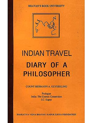 Indian Travel Diary of A Philosopher