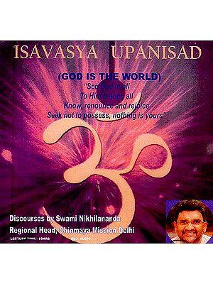 Isavasya Upanishad Discourses (MP3 Audio CD)