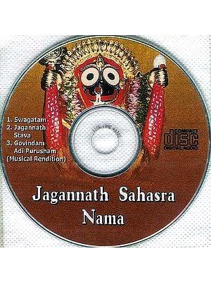 Jagannath Sahasra Nama (Audio CD)