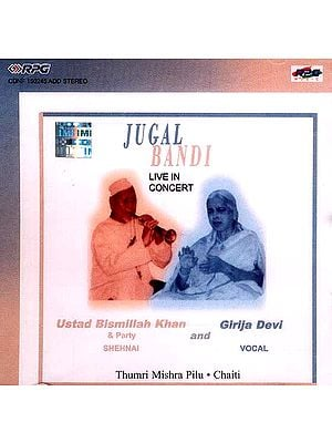 Jugal Bandi Live In Concert Thumri Mishra Pilu, Chaiti (Audio CD)