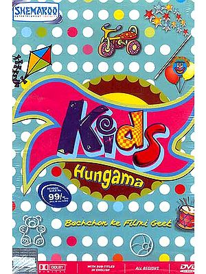 Kids Hungama (Songs from Films for Kids -DVD Video with English Subtitles)