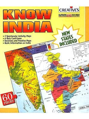Know India <br>(An Activity Pack with Puzzles to Build; Quizzes to Solve; Maps to Colour and a Lot of Information about India): For Ages Nine and Up