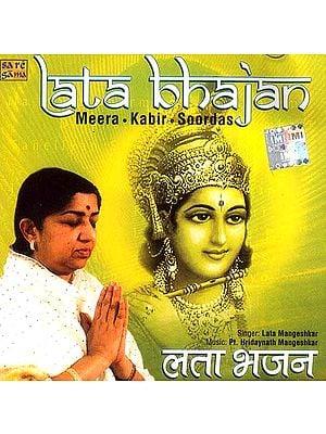 Lata Bhajan Meera Kabir Soordas (Audio CD)