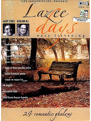 Lazee Days: Easy Listening (Set of Two Audio CDs): 24 Romantic Ghazals