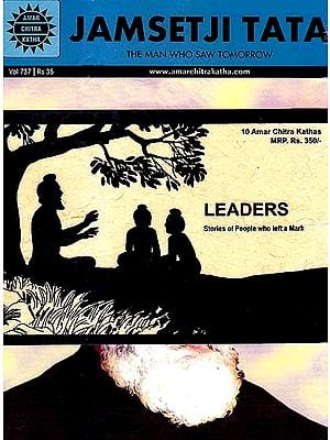 Leaders: Stories of People Who Left a Mark (Set of 10 Amar Chitra Katha Comics)