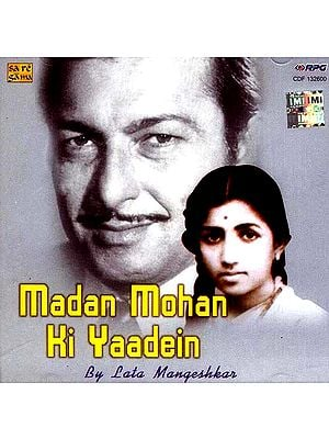 Madan Mohan Ki Yaadein by Lata Mangeshkar (Audio CD)