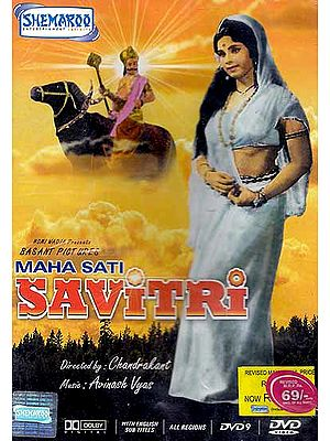 Maha Sati Savitri: The Ideal, Chaste Wife (Hindi Film DVD with English Subtitles)