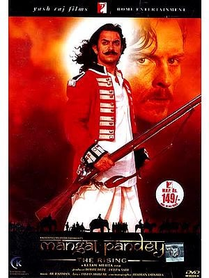 Mangal Pandey: An epic tale of friendship, love, loss and betrayal set against the backdrop of Indian Mutiny of 1857 (Set of Two DVDs with English Subtitles)