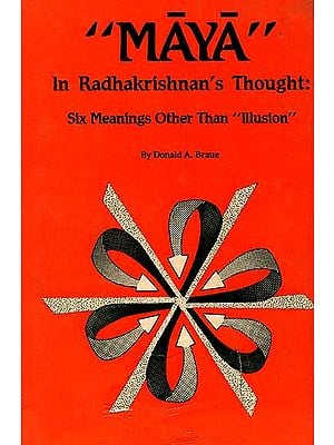 Maya Radhakrishnan's Thought Six Meanings Other Than Illusion