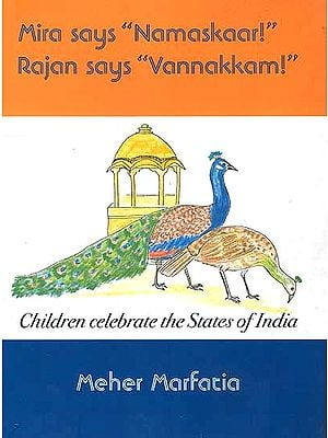 Mira says 'Namaskaar!'  Rajan says 'Vannakkam!'