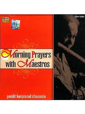 Morning Prayers with Maestros (Audio CD)