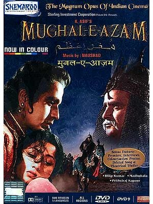 Mughal-E-Azam: The Love Story of Mughal Prince Akbar - The Magnum Opus of Indian Cinema (In Colour)