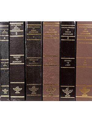 Encyclopaedia of Indian Literature (Set of Six Big Volumes)