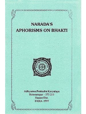 Narada's Aphorisms On Bhakti