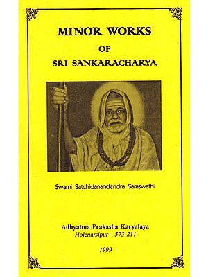 Minor Works of Sri Sankaracharya