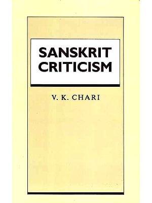 Sanskrit Criticism