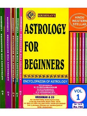 Astrology For Beginners: Encyclopedia of Astrology (Six Volumes)