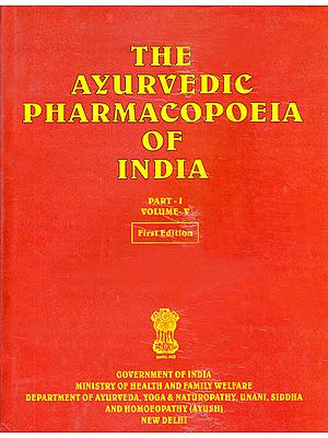 The Ayurvedic Pharmacopoeia of India (Part-I, Volume-V)