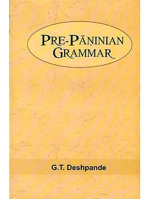 Pre-Paninian Grammar