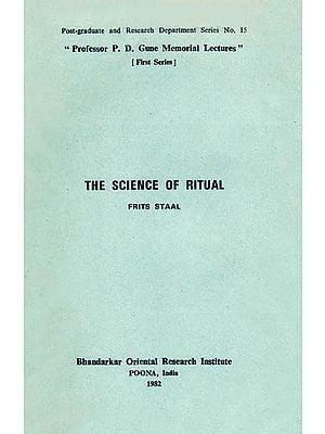The Science of Ritual (A Rare Book)