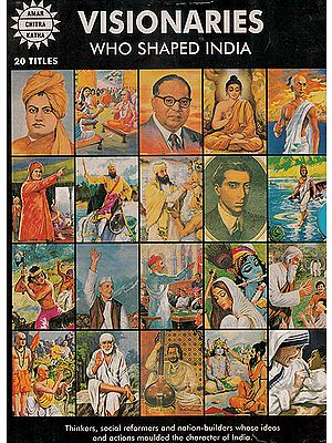 Visionaries Who Shaped India (Collection of 20 Comics)