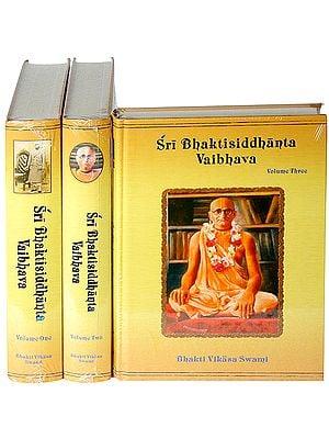Sri Bhaktisiddhanta Vaibhava (In 3 Volumes)