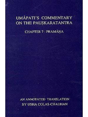 Umapathi's Commentary on the Pauskaratantra