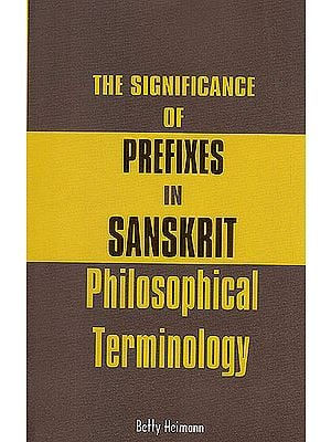 The Significance of Prefixes in Sanskrit Philosophical Terminology