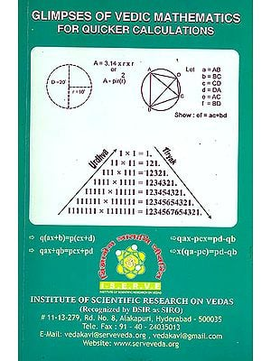 Glimpses of Vedic Mathematics For Quicker Calculations