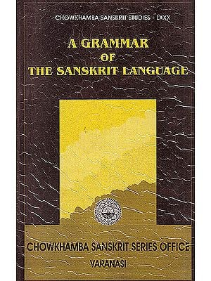 A Grammar of The Sanskrit Language