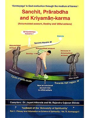 Sanchit, Prarabdha and Kriyaman-Karma: Accumulated account, Destiny and Wilful Actions