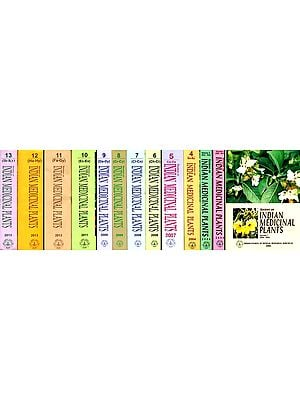 Reviews on Indian Medicinal Plants (Set of 13 Volumes)
