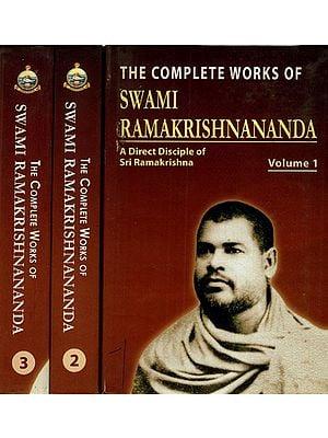 The Complete Works of Swami Ramakrishnananda (A Direct of Disciple of Sri Ramakrishna) (Set of 3 Volumes)